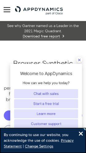 App Dynamics preview