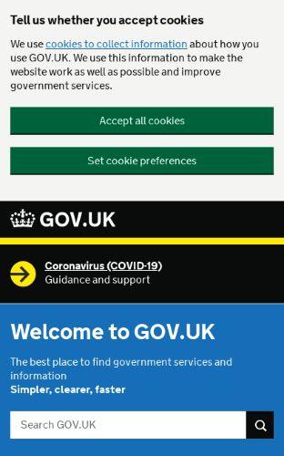 Gov UK preview
