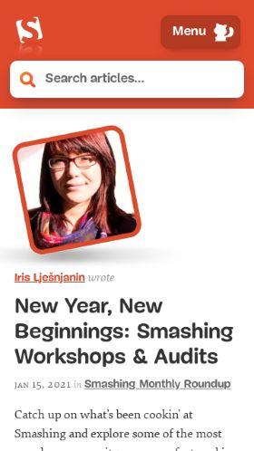 Smashing Magazine preview