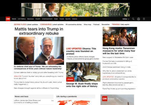 CNN Desktop preview